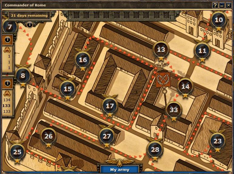 Kommandant für Rom
